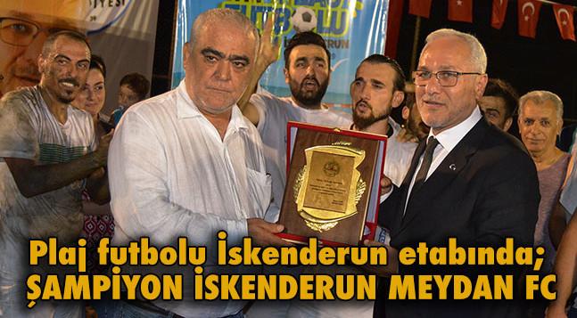 ŞAMPİYON İSKENDERUN MEYDAN FC