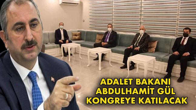 adalet bakani abdulhamit gul kongreye katilacak gazete guney