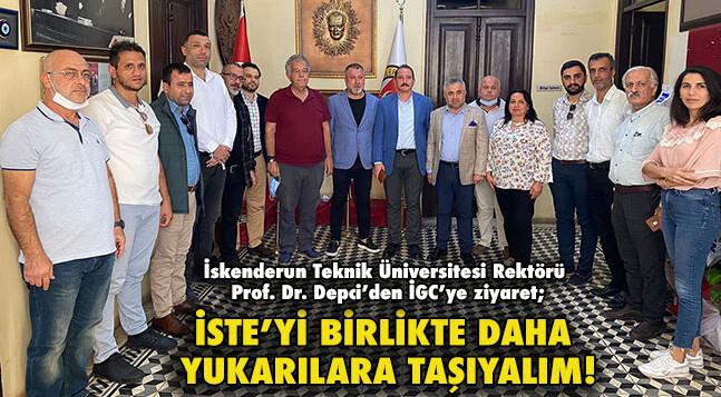 İSTE'Yİ BİRLİKTE DAHA YUKARILARA TAŞIYALIM!